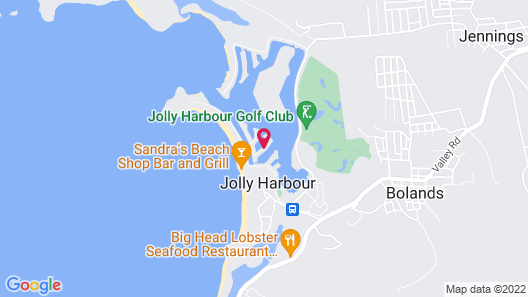 Villa 422D at Jolly Harbour Map