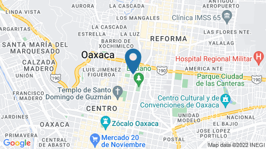 Holiday Inn Express Oaxaca-Centro Historico Map