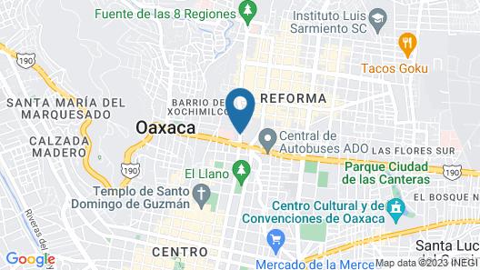 Hotel Mision De Los Angeles Map