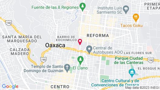 Hotel Boutique Casa los Cantaros Map