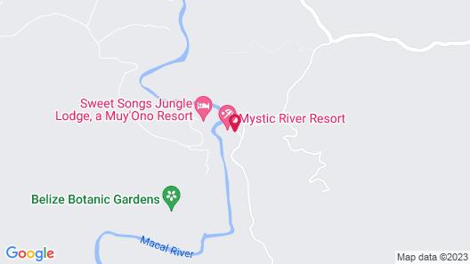Mystic River Resort Map