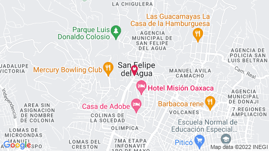 Hotel Angel Inn Map