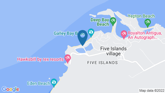 Galley Bay Resort & Spa - All Inclusive - Adults Only Map