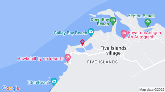 Galley Bay Cottages Map