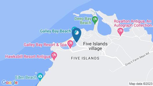 Royalton Antigua Resort and Spa – All Inclusive Map