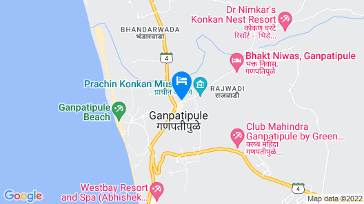 Center Point Residency Map