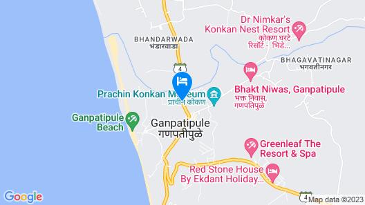 Ekdant Holiday Home Ganpatipule Map