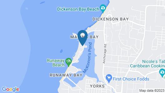 2 Bedroom Beachfront Apartment Ground Floor Map