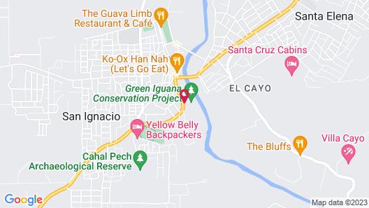San Ignacio Resort Hotel Map