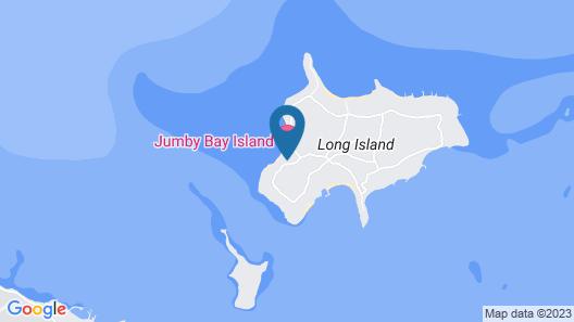 Jumby Bay Island - Oetker Collection Map