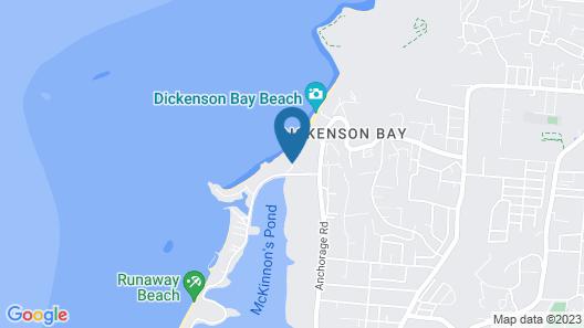 Dickenson Bay Oasis Antigua Village Map