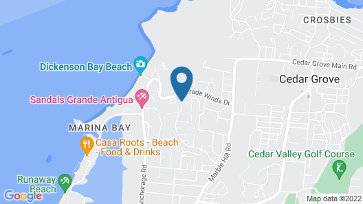Trade Winds Hotel Map