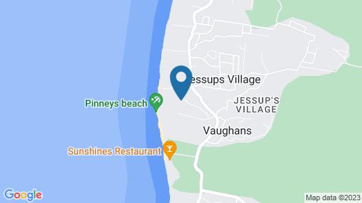 Four Seasons Resort - Nevis Map