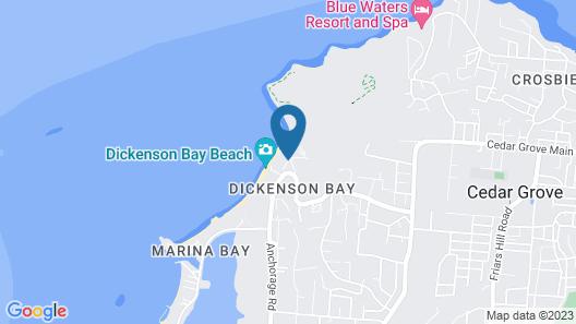Starfish Halcyon Cove Resort Antigua-All Inclusive Map