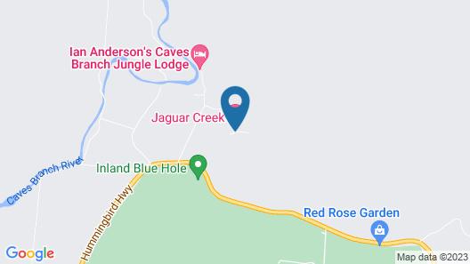 Jaguar Creek Map