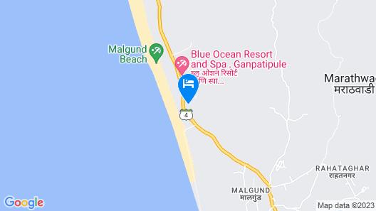 Beachfront Villas Map