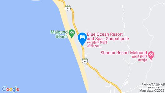 Blue Ocean Resort & Spa Map