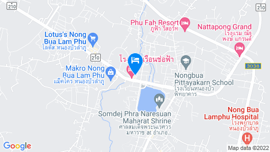 Wiphaporn Hotel Map