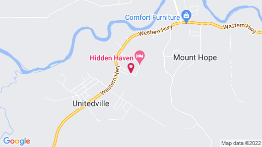 The Green Valley Inn Map