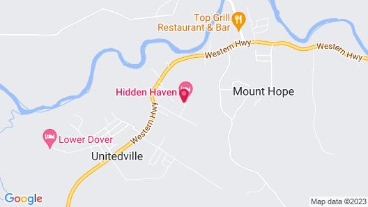 Hidden Haven Map
