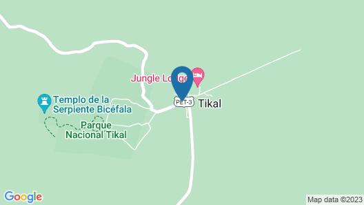 Jungle Lodge Hotel Map