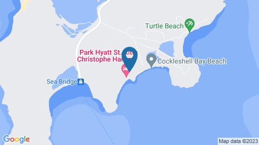 Park Hyatt St. Kitts Map