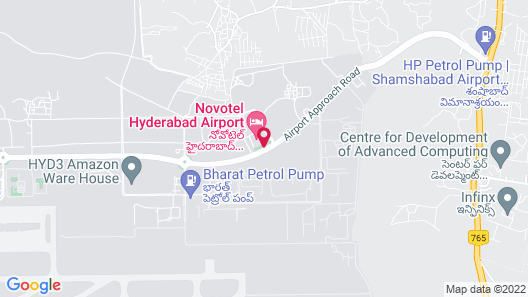 Novotel Hyderabad Airport Hotel Map