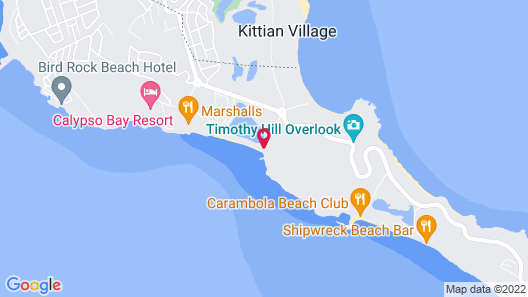 Timothy Beach Resort Map