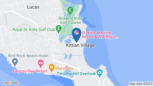 Royal St.Kitts Hotel Map