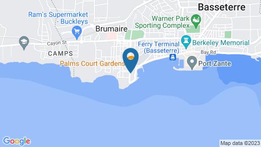 Ocean Terrace Inn Map