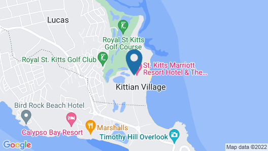 St. Kitts Marriott Resort & The Royal Beach Casino Map