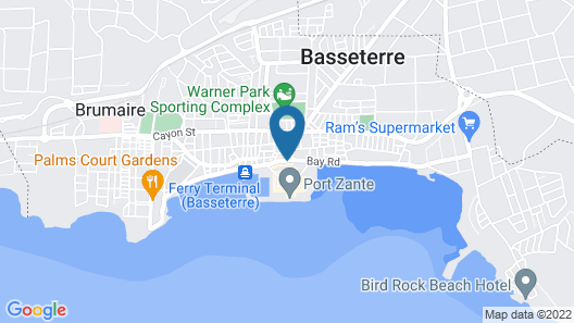 Seaview Inn Map
