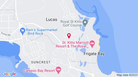Unique Romantic Escape, Gorgeous Ocean Views, Pool & Exotic Gardens Map