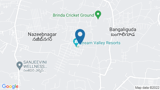 Dream Valley Resort Map