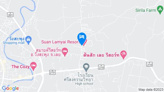 Suan Lamyai Resort Map