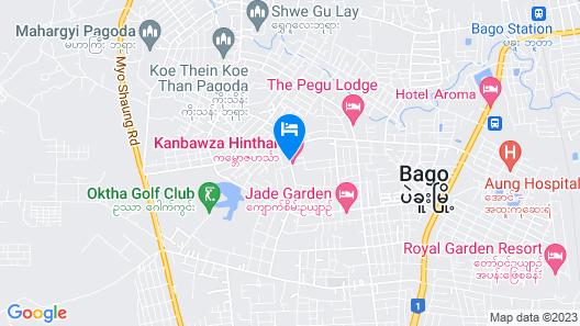 Kanbawza Hinthar Hotel Map