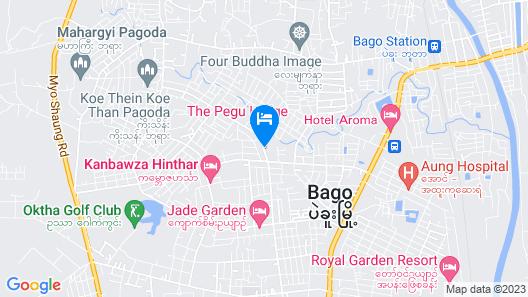 The Pegu Lodge Map