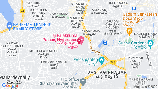 Taj Falaknuma Palace Map