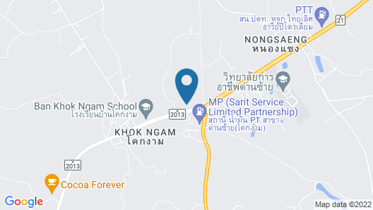 Country House Khokngam Map