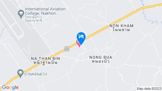 TaamJai Resort Map