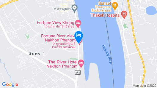 Fortune River View Nakhon Phanom Map