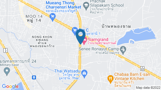 Siamgrand Hotel Map