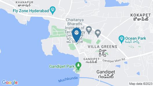 Golkonda Resorts & Spa Map