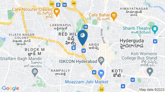 Hotel Asian International Map