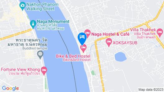 Inthira Thakhek Map