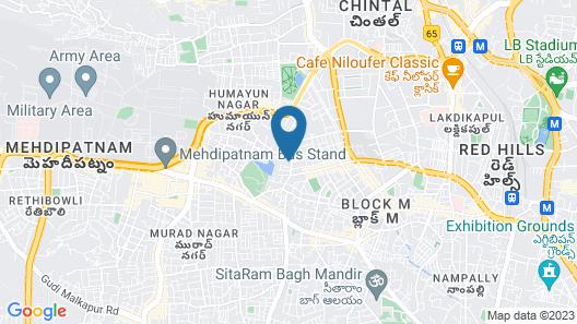 OYO 674 Apartment Hotel Manar Luxury Suites Map