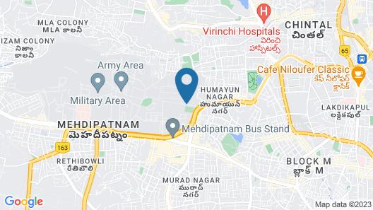 Manar Suites Map