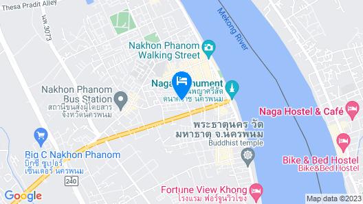 Wiang Inn Hotel Map