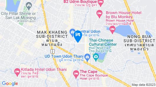 Kavin Buri Green Hotel Map