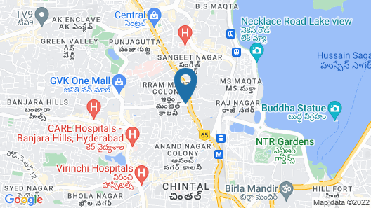 Mercure Hyderabad KCP Hotel Map